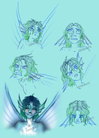 Zephes Expressions by WingedHippocampus