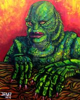Creature from the Black Lagoon by JosefVonDoom