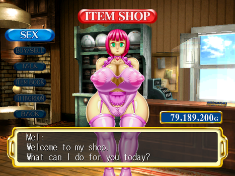 Mel's Shop (Power Stone 2) by angelauxes