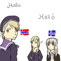 Norway and his sisters by Soviet-Union-Russia