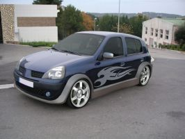 Renault Clio 2  tuning by GaryRoswell007
