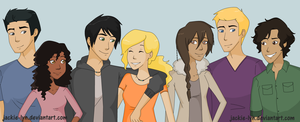 Seven Heroes Finished by Jackie-lyn
