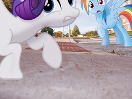 Rarity You Dropped The Camera by UnicornRarity