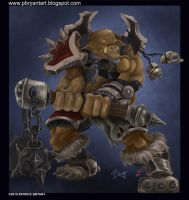 Orc Warrior 2 by PatrickBryant