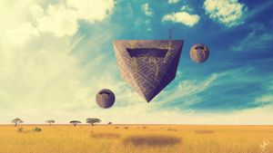 Space Pyramid by CMFGeneration