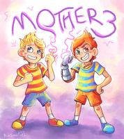 Mother 3 11th Anniversary! - GIF by Kosmotiel