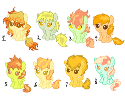 Spitfire X Lightning Dust Adopts (CLOSED) by Radioactive-Cryptid