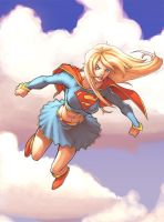 Supergirl Digital Colors by RAHeight2002-2012