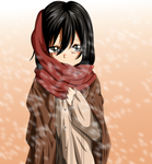 Young Mikasa by Trademarck-TheTruth