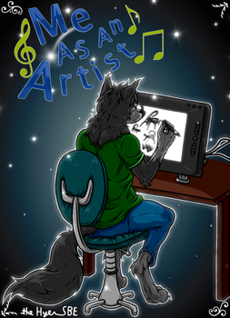 Me As An Artist - Project 1 (FAILED) by theHyenasSBE