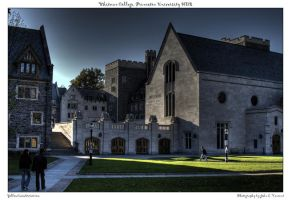 Whitman College, Princeton HDR by yellowcaseartist