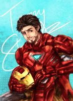 Tony Stark by Zeiruin