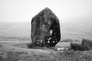 Standing Stone at Brecon Beacons by iconsPhotography
