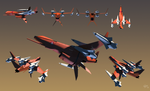 Missile Drone-Macross by EastCoastCanuck