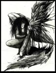Injured Angel by Art-of-the-Seraphim