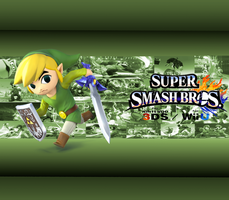 Toon Link wallpaper by CrossoverGamer