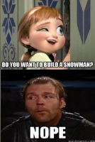 No Dean doesn't wanna build a snowman.... by GhostAsylum