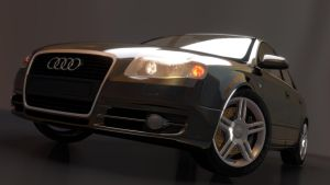 Audi A4 by Hiddenus