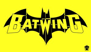 2011 The New 52 Batwing Comic Title Logo by HappyBirthdayRoboto
