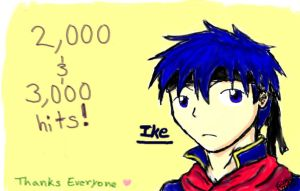 2,000 and 3,000 hits by Tobi-kun