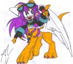 Mina the Singing Mongoose Taur - Colored by dragonheart07