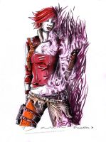 Lilith: The Firehawk by DawnArts
