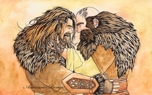 Dwalin and Fili by Autumn-Rouge