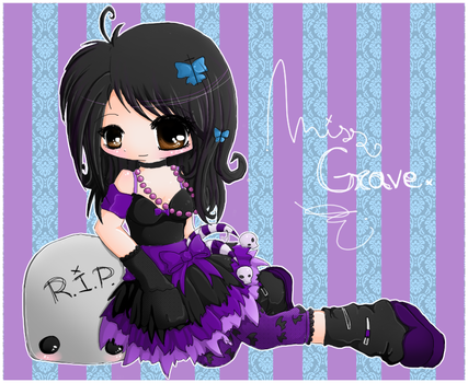 Miss Grave by linkitty