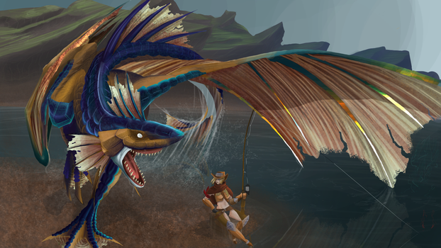 Plesioth by Camaendes