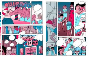 Birthday Kingdom pages 5 and 6 by PRISMPIXELS