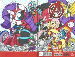 AvengersSketchCover (3) by PonyGoddess