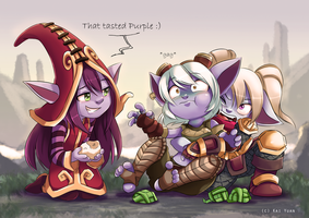 League of Legends: Rice Dumplings by kaiyuan