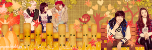 [Cover Zing] Hello Autumn With Miss A And Kibum by YongYoMin