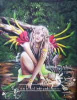 Kangaroo Paw Fairy by KylieInGold