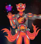 Commission: Kamen Rider OOO Kurama by manu-chann