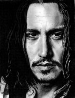 Johnny Depp by LisaWP