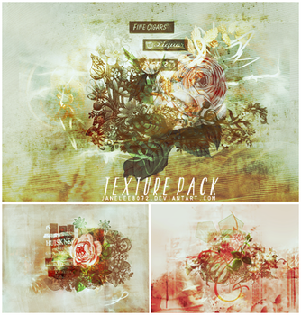 Grunge Floral Texture by janelee8072
