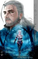 The Path - Witcher 3: Wild Hunt by Radiant-Grey