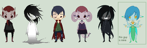Oh look more adoptables by DrDecapitation