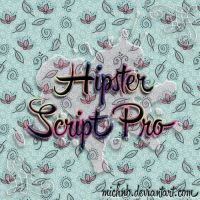~Hipster Script Font by MichNB