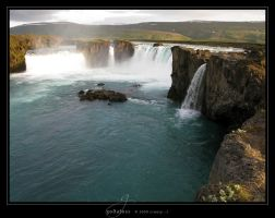 Godafoss by Crooty