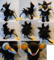Luxray (up for sale) by Rens-twin