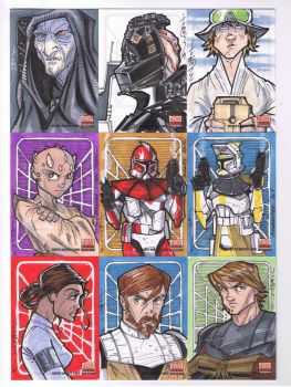Topps SW Galaxy 5 SC03 by Hodges-Art