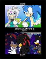 Sonic Adventure 2 REPLAY by SheirFaggot