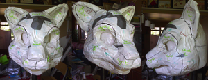 Loka Fursuit WIP 2 by therougecat