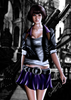 DMC Lady by ceriselightning
