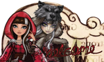 Cerise Wolfhood Journal Banner by Aletheiia90