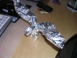 Tin foil dragon by Unigirl3