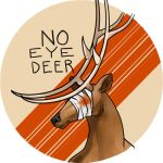No Eye Deer by sketchbeetle
