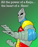 KMAC For March 2013: Jet Jaguar by rebis